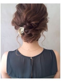 Congratulations on your manners! The correct answer for the wedding dress - Wedding Hairstyles Party Hairstyles, Cute Hairstyles, Wedding Hairstyles, Hair Arrange, Hair Setting, Best Short Haircuts, Braids For Long Hair, Stylish Hair, Hair Art