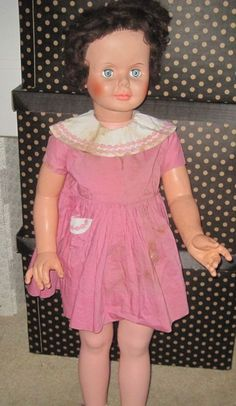 Vintage 1960s marked Sayco Playpal companion doll, 36