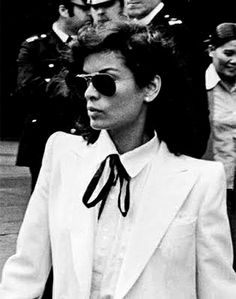 Galleria Armadoro | May Mood Board Bianca Jagger on the day of her wedding.