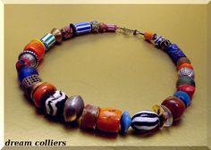 Afrikanischer Schmuck - Buntes Afrika für jeden Tag - ein Designerstück von Dream-Colliers bei DaWanda