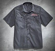Motors Striped Performance Shirt