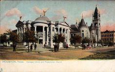 Biblioteca pública de Houston, 1907