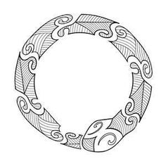 Maori Ouroboros Tattoo/ interesting coincidence