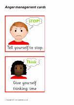 Ned. versie!!! Anger management cards (SB3654) - SparkleBox