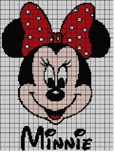 pixel art mickey et minnie Baby Cardigan Knitting Pattern Free, Kids Knitting Patterns, Crochet Patterns, Disney Stitch, Disney Cross Stitch Patterns, Cross Stitch Designs, Cross Stitch Baby, Cross Stitch Charts, Pixel Art Mickey