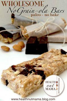 Health Nut Mama | no grain bars!