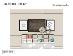 Ultimate Playroom Guide Mood Board by Postbox Designs, restoration hardware, land of nod, pottery barn kids, playroom design, playroom decor, kids bedroom, kid space, target style, basement decor, pouf, airplane decor, patent prints, lego decor, kid artwork, e-design, postboxdesigns, toy storage, kid organization
