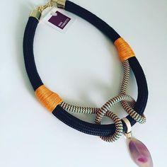 Rope necklace idea