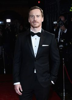 Actor Michael Fassbender attends the BFI London Film Festival awards during the 60th BFI London Film Festival at Banqueting House on October 15, 2016 in London, England.