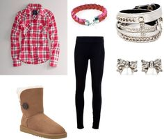 """""""cozy outfit for the winter or fall !"""" by laurissac on Polyvore"""