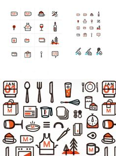 Designer: Kelli Anderson #icon #branding #illustration