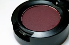 MAC Sketch Eyeshadow - My all time favorite eyeshadow from MAC. Gorgeous burgundy with red shimmer.