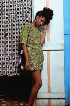 West African Wax print fabric. Yevu clothing