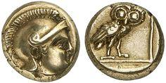 EL Hekte. Greek Coin, Lesbos, Mytilene. Circa 377-326 BC. 2,57g. Boston 1745. Almost EF. Price realized 2011: 2.000 USD.