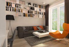 Mieszkanie 62 m2 - Paulina Błasiak - e-aranżacje.pl