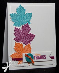 Magnificent Maple by stampercamper - Cards and Paper Crafts at Splitcoaststampers