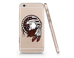 American Eagle Clear Transparent Plastic Phone Case Phone...