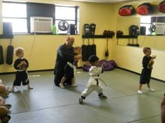 Lil' Dragons - martial arts for ages 2 to 4.