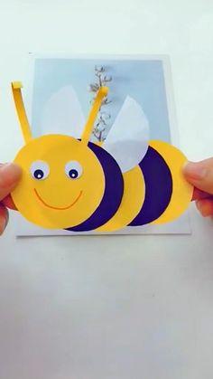 Boy Diy Crafts, Diy Crafts Hacks, Diy Crafts Videos, Toddler Crafts, Fun Crafts, Animal Crafts For Kids, Paper Crafts For Kids, Art For Kids, Craft Activities