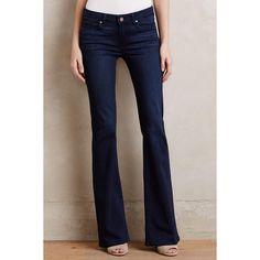 Paige Hoxton Bootcut Petite Jeans ($191) ❤ liked on Polyvore featuring jeans, lamont, paige denim, slim boot cut jeans, slim cut jeans, bootcut jeans and slim jeans