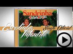 Sandrinha - Escolinha Infantil (Single Oficial) CD Tudo é Alegria 1986