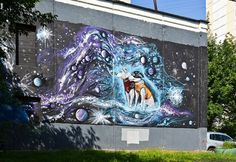 """Space"" Street Art in Moscow   /   http://photovide.com/?p=174978"