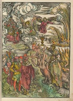 Illustration from Apocalipsis cu[m] figuris, Nuremburg: 1498, by Albrecht Dürer
