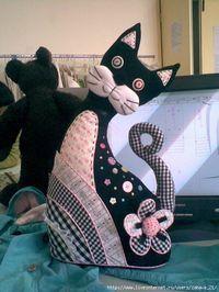 Лоскутные коты. Обсуждение на LiveInternet - Российский Сервис Онлайн-Дневников