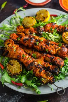 Piri Piri Chicken and Potato Skewers. This Portuguese and African inspired dish is spicy, smoky, tangy, and tender. It'll be a hit during grilling season. Kebab Recipes, Grilling Recipes, Indian Food Recipes, Beef Recipes, Cooking Recipes, Ethnic Recipes, Easy Chicken Recipes, Quick Recipes, Healthy Recipes