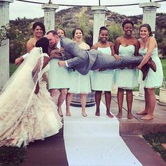 Wow~~Lol… Awesome interracial couple on the wedding day… Congrats and bless them….  Blackwomenforwhitemen.org~~~where we specialize in interracial dating services.It's OK to color outside the lines.Hope you will like it.