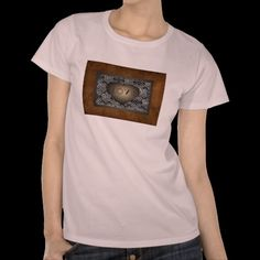 Leather and Lace Womens T-shirt.available at www.zazzle.com/americanbannedtshirt