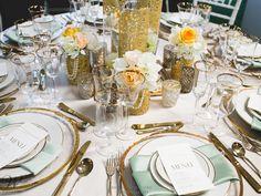 #GreatGatsby Theme Table #Wedding |  #WilliamsSJ | www.willparty.com | @De Young Flowers