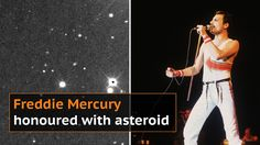 Freddie Mercury has asteroid named after him to celebrate 70th birthday
