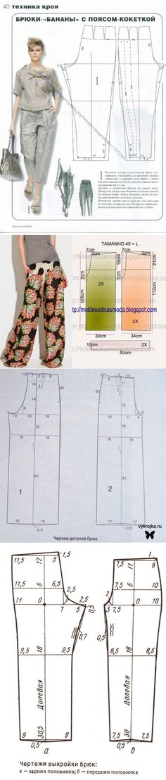 f31ad176 pattern summer pants for obese women: 21 thousand images found in  Yandeks.Kartinki Desi
