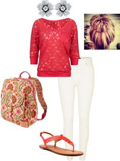 """School outfit"" by sagravel on Polyvore"