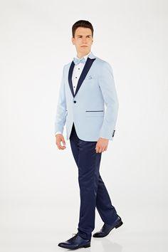 Un costum potrivit pentru nunțile care au loc vara. Tuxedo, Bespoke, Ready To Wear, Suit Jacket, Breast, Costumes, Suits, How To Wear, Jackets