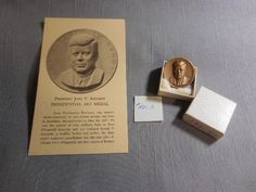 #USA #medallic #art #president #jfk #kennedy #bronze #medal #pirate #treasure