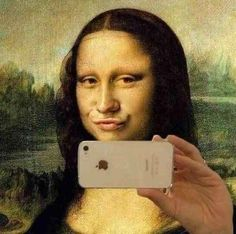 MONA LISA....GEEK......PARTAGE OF RENÉ PASSERA.....ON FACEBOOK...
