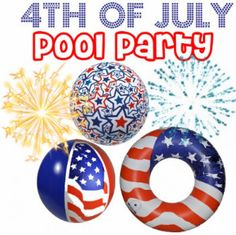102 Best Pools Unlimited July 4th Pool Parties Images 4th Of
