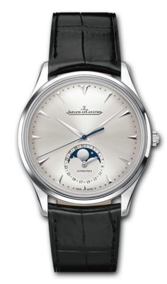 "Jeager Le Coultre Master Ultra Thin Moon Automatic Stainless Steel ""Best Seller"" Available at Cellini Jewelers Men's Watches, Fine Watches, Cool Watches, Dream Watches, Jeager Le Coultre, Rolex, Jaeger Lecoultre Watches, Fossil Handbags, Swiss Army Watches"