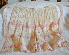 Crocheted Apron ~ from Daisy Antiques on Ruby Lane