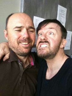 Life would not be worth living without Karl Pilkington and Ricky Gervais!!!