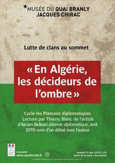 """musée du quai Branly - Jacques Chirac - Production - musée du quai Branly - Jacques Chirac - """"En Algérie, les décideurs de l'ombre"""""""