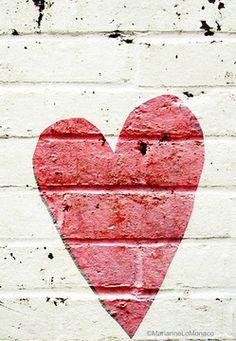 Paint colour love heart