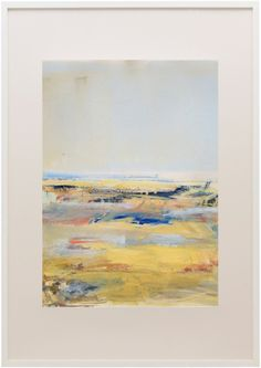 Gloria Sáez - Campos de Castilla (GS197) | From a unique collection of abstract paintings at http://www.1stdibs.com/art/paintings/abstract-paintings/
