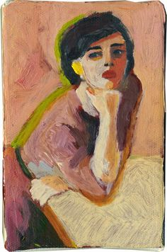 Anne-Sophie TschieggYou can find People and more on our website. Figure Painting, Painting & Drawing, Portrait Art, Portrait Paintings, Figurative Art, Painting Inspiration, Art Inspo, Art History, Art Projects