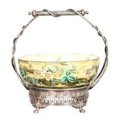 Victorian Bride's Basket.