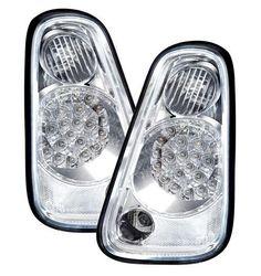 BMW Mini R50/R52/R53 2001-2006 Chrome LED Rear Tail Lights Pair