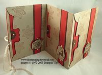 Last Thursday was my Scrappy Thursday class for my Scrapbook Club members. Club members enjoy this perk as part of their club benefits, making a Mini Album every other month. This month we made this adorable Christmas Envelope Scrapbook. I saw this type of scrapbook posted my someone on SCS and knew my club members would enjoy making one for themselves. All it takes is three envelopes adhered together and then decorate as desired. Here some pictures of the inside. Supplies used: Winter Post…