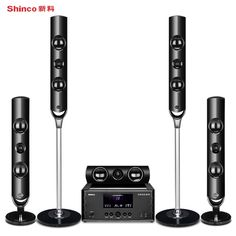 7dc6878cef2 Shinco home theater audio suite TV living room home surround speakers  Support Bluetooth digital light coaxial - Elektronic Shack